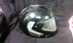 Several motorcycle/snowmobile helmets. Sell or trade for something interesting.