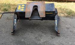 Used Hijacker Double Pivot UL-16 Fifth Wheel Hitch with pins. Good condition. No rails. $450.00