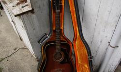 Definitely vintage in very good condition. With hard case.