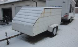trailer tows good suitable for snowmobile  $950.00 o.b.o e-mails will not be answered. 613-341-8739 or 613-349-1149, Brockville.