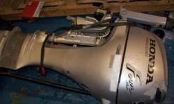 Make Honda Model BF9.9DXHS Year 2001 Also includes shop manual and a log book of all servicing every done on motor. Electric Start The Honda BF9.9 is smooth, quiet, and perfect for several types of sailboats. Meets CARB 2008 emissions standards Extra