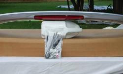 """Honda Accord silver factory spoiler new in box. Fits 2002 2 DR and possibly other years if you check.   Item # 17   CHECK OUT MY OTHER HONDA PARTS FOR SALE ON THE """"VIEW POSTER'S OTHER ADS"""" BUTTON TO THE RIGHT   I have too many items to keep track of other"""