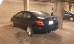 Make Honda Model Civic Sedan Year 2012 Colour black kms 29000 Trans Automatic New front breaks, never in an collision, recent oil change, winter tires are included, blu-tooth, CD player, usb input, power locks and windows, A/C, Econ fuel efficiency good