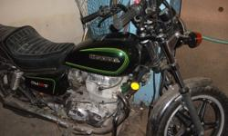 I have a mint condition Honda 400 bike thats been stored inside my basement with 1880 kms! I lost my license for the next three years and am selling this to pay my fine off.