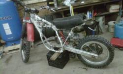 hey i would like to sell my1982 honda cr 250 has brand new piston and piston rings has lots of compression lost interests in it just needs some work ill reply back asap thanks ASIS in the pics is what you get the first 250 takes it.....