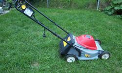 "Honda Electric Lawn mower for sale. 17"" blade, sharpened. Honda quality. Only $200. Now $150. We are located in Orleans. See our list of other items for sale. First come, first served."
