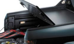 Genuine Hard Tonneau Cover helps provide security for anything stowed in the bed. Heavy duty cover folds in the middle for easy access to the bed and In-Bed Trunk Rugged and lockable for more secure storage The dual-action tailgate is fully functional