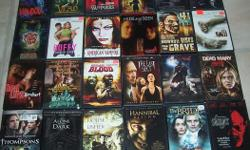 All are in excellent working condition. Each DVD is for $3.00. Will sell 4 for $10.00 or 10 for $20.00.