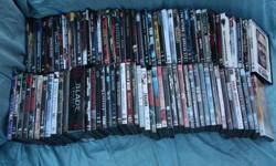 87 horror movies on DVD Must take all Classics as well as favorites