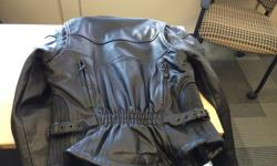 Hello: I have a small barely used HOT Leathers women's jacket. Excellent condition.