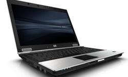 """HP Elitebook 6930p Laptop Like New - 8 months HP worldwide  warranty  (used only few hours) Qty Available     CORE2DUO P8600 MEMORY 2GB DDR2 BUILD IN WEB CAMERA/ NIGHT LIGHT 160GB 7200 RPM HARD DRIVE DVD/CDRW DRIVE 14"""" SCREEN   Manufacturer warranty till"""
