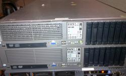Hello We have the following 2 Servers for Sale. Both servers are fully functional and tested. No problems are found and everything works guaranteed. Server #1: - $575.00 HP ProLiant G5 DL380 2 x Intel E5410 Quad Core 2.33Ghz Processors (8 Cores total) 8 x