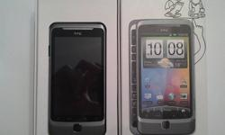 HTC Desire Z in brand-new condition, basically never used cause I bought it as a development phone. $200 obo. Running android 2.3.7, custom ROM, unlocked, rooted, tested on rogers network. As mentioned it is running a custom ROM but if you prefer the