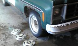 Four Hubcaps 1978 Cheverolet Pickup Excellent condition
