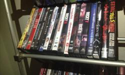 I have hundreds of dvds an bluerays for sale including some seasons. Some of the seasons include The Borgias, Entourage, Six Feet Under, 30 for 30, Rome and The Wire. More moves then whats shown it will only let me load 8 pcs. 10 dollars per movie 20 per