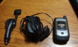 I570 Mike Phone with house charger and retractable car charger.If interested please call or email John