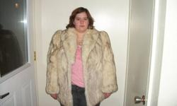 I  HAVE  A  COAT  FOR  SELL  IT  AS  NOT  BEEN USED JUST  ONE'S  IF  YOU  WOULD  LIKE  TO  KNOW  MORE  ABOUT  YOU  CAN  CALL ME  AT  705 876 8457  ASK  FOR  SANDRA   MUST  SELL  MAKE  ME  A OFFER  IAM  ASKING  $220.00  OR  BEST  OFFER