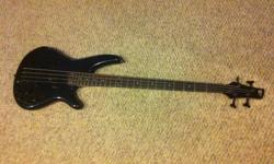 Ibanez SR400 4 string bass guitar. Active Electronics. Midnight Blue. Beautiful bass, sounds incredible. Good shape. Comes with hard case. $500 obo.