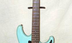 This is an older Ibanez Roadstar made in Korea..plays pretty good and has that great Ibanez neck.....comes with a gig bag  and a Kustom amp