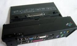 "COMPATIBLE WITH: ThinkPad A20, A21, A22,A30, A31 R30, R31, R32 R40 R50, R51, R52 T20, T21, T22, T23 T30  T40/p, T41/p, T42/p, T43/p X20, X21, X22, X23, X24X30, X31   Port Replicator II 74P673 SPECS: Ports: Audio - Line In (1/8"" Mini), Audio - Line Out"