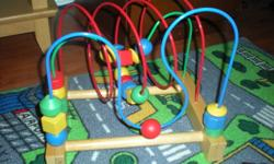 Ikea Bead Maze Helps develop fine motor skills, teaches colours and much more Excellent Condition Smoke free home