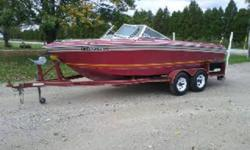 This boat is priced to sell !! Compare with $8000+ in the spring, if you can find another. This is a true classic and has been loved its whole life. Has a seating capacity of eight and is water ready.   Powered by a 351 windsor v8 and is very good on fuel