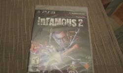 I'm selling a brand new copy of infamous 2, i got it when i purchased my PS3 im not into this style of game. im looking for 40 or a good trade