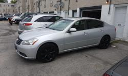 Make Infiniti Model M35X Year 2006 Colour SILVER kms 180000 Trans Automatic 2006 M35X EVERY OPTION AVAILABLE CAR IS IN GREAT SHAPE CAR SOLD AS IS