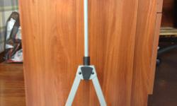 Barely used violin and/viola stand. Adjustable to fit all violins and violas. Can keep your shoulder rest on your instrument. Has a built in bow holder. Sturdy construction. Ideal for home use, but also great for schools and gigs where safety is of