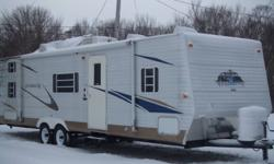 2004 INNSBRUCK CAMP TRAILER WITH A SLIDE OUT IN THE LIVING ROOM AND MASTER BED ROOM IN THE FRONT PLUS BUNK ROOM IN THE BACK WITH 4 BEDS. VERY NICE FAMILY TRAVELLING TRAILER IN EXCELLENT CONDITION. CALL 241 2193 OR 3045371. SERIOUS INQUIRES AND REASONABLE