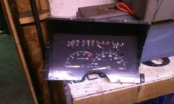 Instrument Cluster w/Tach - 92-94 Chevy Truck FOR GAS OR DIESEL HAS LIGHT HOOK UP FOR GLOW PULGS  WORK WILL   $40 519-319-6907