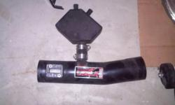 Injen intake cold air and front grill for 2007 nissan maxima in good condition.