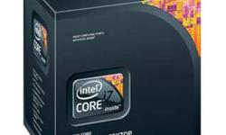 brand new, unopened box, one of the top processors on the market. i7 Extreme 990X Six Core 12-Way multitasking Gamers treat yourself with something special for christmas! asking 850 obo