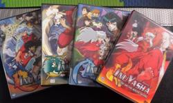 Selling the complete series of Inuyasha (7 Seasons + The Final Act + 4 movies). Excellent condition.