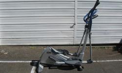 No impact elipticle exercise machine. Have gym membership, no longer needed.