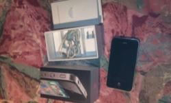 Hello everyone!! I've An Iphone 4 32 gig in box. Having little wear and tear on screen. A long press is required for home key and unlock key. comes with wall charger and box only!! Email me.