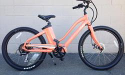 Wait until you try these beautiful bikes by izip. Lots of power with a smooth ride.while supplies last.