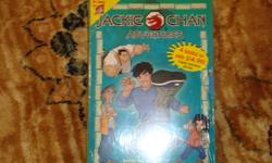 This Jackie Chan Adventures box set contains 4 chapter books.I am selling for only $5 for all 4.The titles include Jade's Secret Power The Dark Hand Enter...The Viper Sign of the Ox Smoke free home. I have other books for a variety of ages and many, many