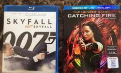 "Both are Blu-ray, DVD, Digital 1x Bond ""Skyfall"" 1x Hunger Games Catching Fire"