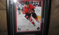 Jason Spezza Framed Picture #19 Ottawa Senators Black Frame Size 13 1/2 X 17 1/2 $20 Can meet in west end of ottawa (kanata) or pickup in Constance Bay