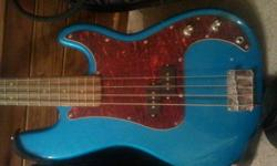 jay turser bass and ibanez amp for sale vintage series. soft case included...$150 good condition