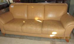 new $1800 now $425..top of the line quality leather. very comfortable.. a rare toasty caramel in colour located at 95 concession street leftside of the building mon-sat11-5,sun12-4