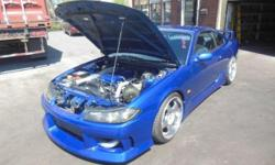 Make Nissan Colour blue Trans Manual kms 107068 Just Landed in Canada We have this Beautiful S15 Nissan Silvia in stock with 107,068 KMS on clock, --SR20DET S15 6SPEED ENGINE --RACING CLUTCH --GREEDY PIPING INTERCOOLER --CUSCO COILOVER FULL ADJUSTABLE