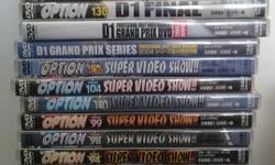 JDM Video Option Drift DVDs various volumes
