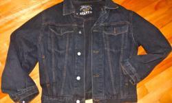 Denim jacket size medium in great shape. Made by Sïlver.