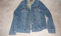 15.00 for all 3 jackets.  one is a size 10 with the hearts and the other 2 are size 14 - 16 approx.