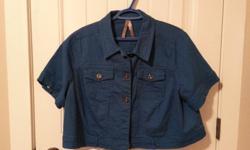 Never worn Jean jackets laux leather coat $10 each OBO