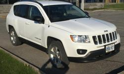 Make Jeep Model Compass North Edition Year 2011 Colour White kms 113000 Trans Automatic 2011 Jeep Compass 113,000km Non-smoker, no pets or kids. No accidents. BEST DEAL EVER!! LOWEST PRICE GUARANTEED!! - FREE Key Remote Engine Starter Feature - FREE