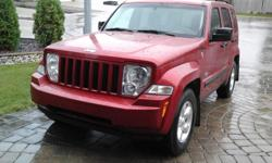 Make Jeep Model Liberty Year 2009 Colour Inferno Red kms 115000 Trans Automatic 2009 Jeep Liberty North Sport Edition. Excellent vehicle great on fuel, owned since new, have all service records, needs nothing. 3.7litre engine, 115,000 kms, air cruise