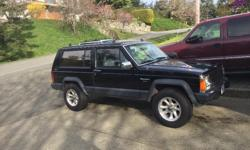 Make Jeep Model Cherokee Year 1988 Colour Black kms 314000 Trans Manual 88 jeep Cherokee (Laredo) Runs great! 4 Brand new Michelin tires Going back to school, need gone ASAP. Call or email for details